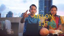 Belanja Buah di Singapura, Ruben Onsu dan Sarwendah Beli Melon Harga Rp 1 Juta!