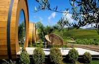 Untuk menginap di dalam tong anggur ini, siapkan kocek sebesar 238 Euro (setara Rp 3,8 juta) per malam. (booking.com)