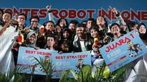 ITS Pertahankan Gelar Juara Umum di Kontes Robot Indonesia 2019