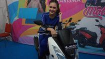 Momen Nella Kharisma Jadi Saksi Iritnya Teknologi Blue Core Yamaha