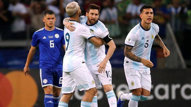Leandro Paredes menjadi pemain dengan pengaruh besar di timnas Argentina di Copa America 2019.