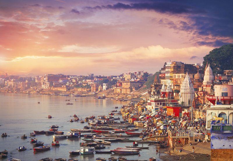 Perkenalkan, inilah Kota Varanasi di India. Kota Varanasi dikenal juga dengan nama Benares atau Kashi atau Kasi. (iStock)