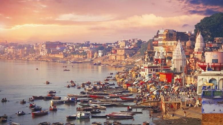 Kota Varanasi di India (iStock)