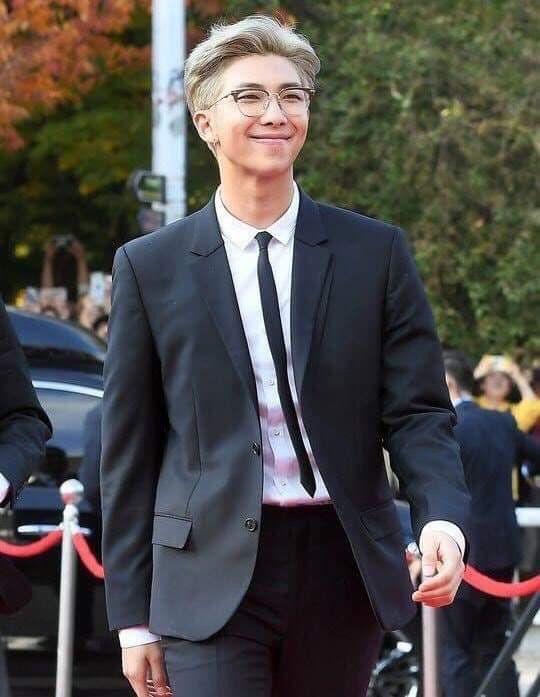 RM atau Kim Namjoon, leader dari BTS.