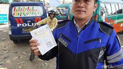 Dishub Menemukan Dokumen Kendaraan Palsu Saat Razia di Cimahi