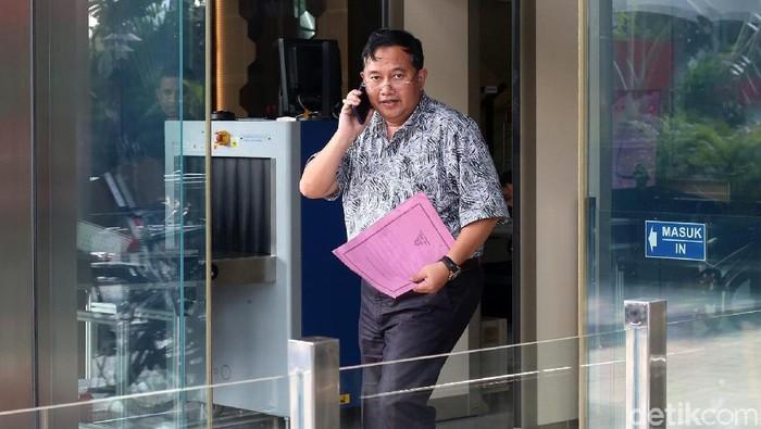 Mantan Wakil Bupati Lampung Utara Sri Widodo (Ari Saputra/detikcom)