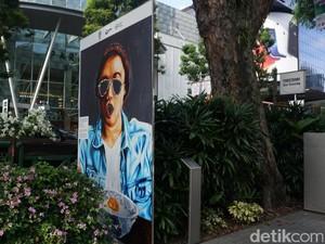 Meriahkan The Worlds 50 Best 70 Karya Seni Makanan Dipajang di Orchard Road
