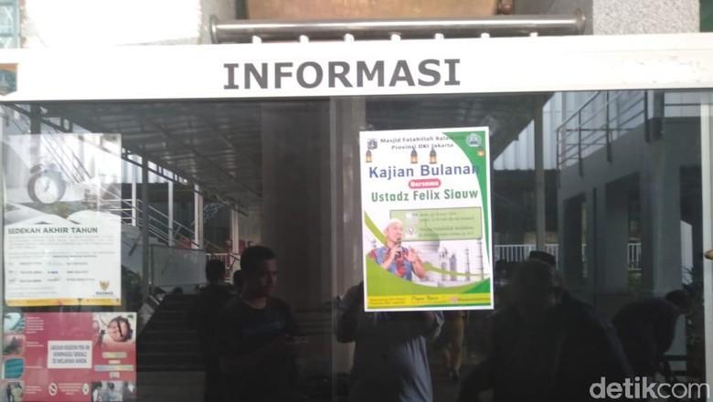 Heboh Poster Kajian Felix Siauw di Masjid Balai Kota DKI, Akhirnya Batal
