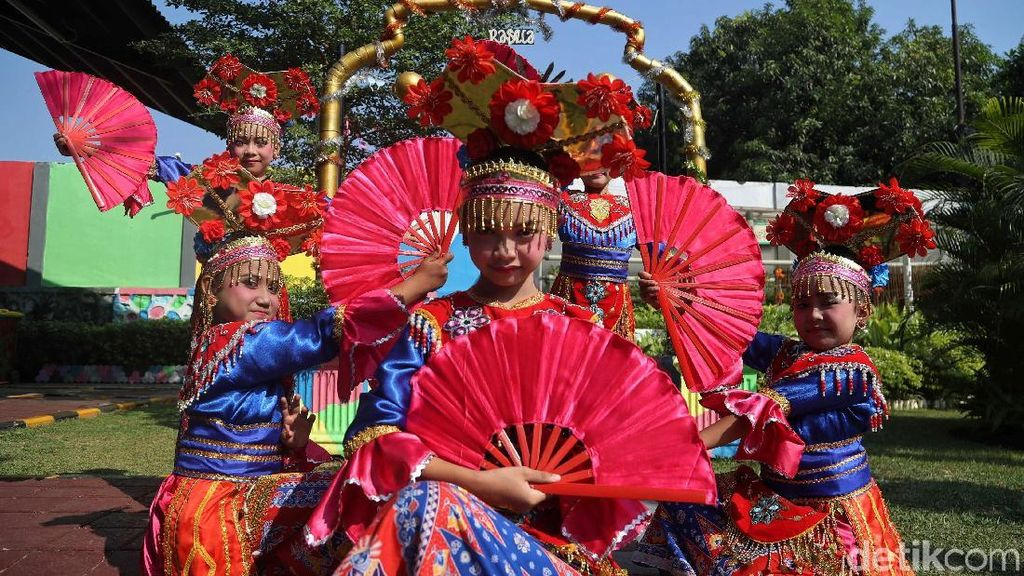 Antusias Anak-anak Meriahkan Gebyar RPTRA di Utara Jakarta
