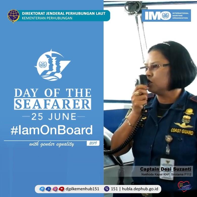 Peringati Hari Pelaut Sedunia, Kemenhub Apresiasi Peran Perempuan