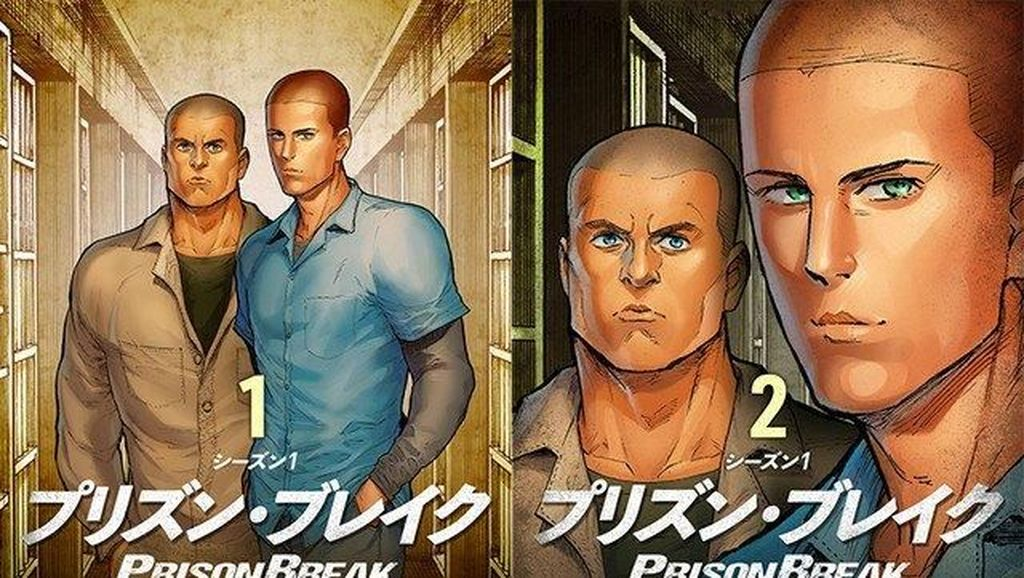 Serial Prison Break Diadaptasi Jadi Manga
