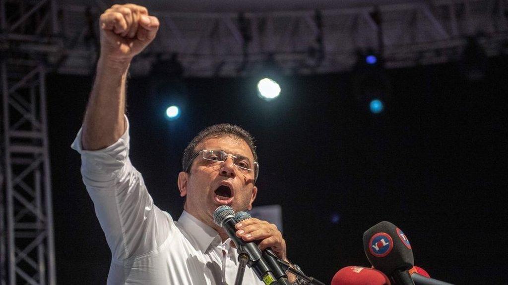Menangi Pilkada Istanbul, Akankah Imamoglu Jadi Saingan Berat Erdogan?