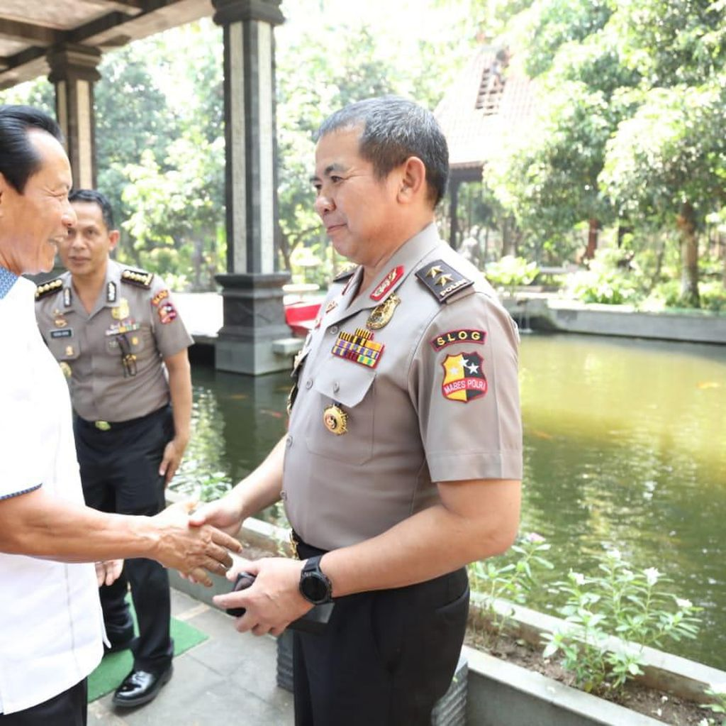 Jelang HUT Bhayangkara ke-73, Perwira Polri Kunjungi Para Mantan Kapolri