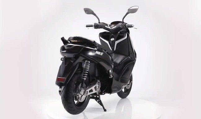 MBI S, Skuter Listrik Mirip Yamaha Nmax