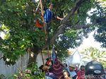 Pemuda Batang Ini Tewas Kesetrum Saat Memasang Bendera Suporter