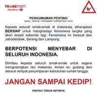Fenomena Apa Ini? Berawal Jabodetabek,Kini Siap Merambah Se-Indonesia