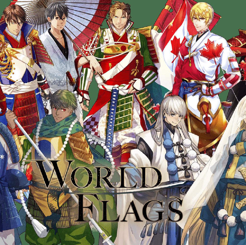Keren! Ketika Bendera Negara Jadi Karakter Anime