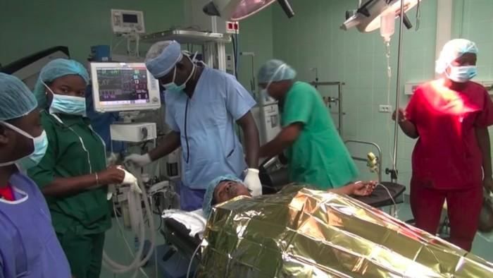 Dorothee Adjakidjie menjalani operasi koreksi kelamin. (Foto: Reuters)