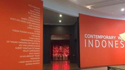 Karya Seni Rupa 20 Seniman Indonesia Pertama Kali Ditampilkan Bersama di Canberra