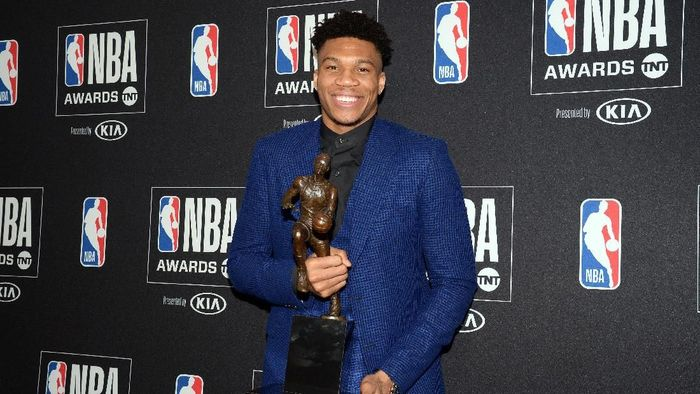 Giannis Antetokounmpo MVP NBA 2018/2019 (Foto: Gary A. Vasquez-USA TODAY Sports)