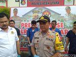 Polisi Tetapkan 4 Tersangka Kasus Ricuh dan Kaburnya Napi Rutan Lhoksukon