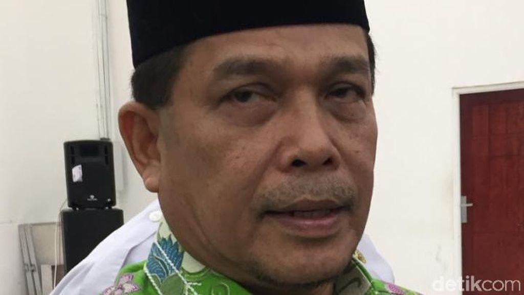 Calon Jemaah Haji Kloter 1 Embarkasi Medan Berangkat 12 Juli