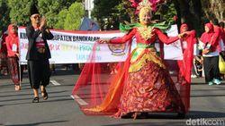 Parade Budaya Meriahkan Event Jumbara Jatim di Magetan