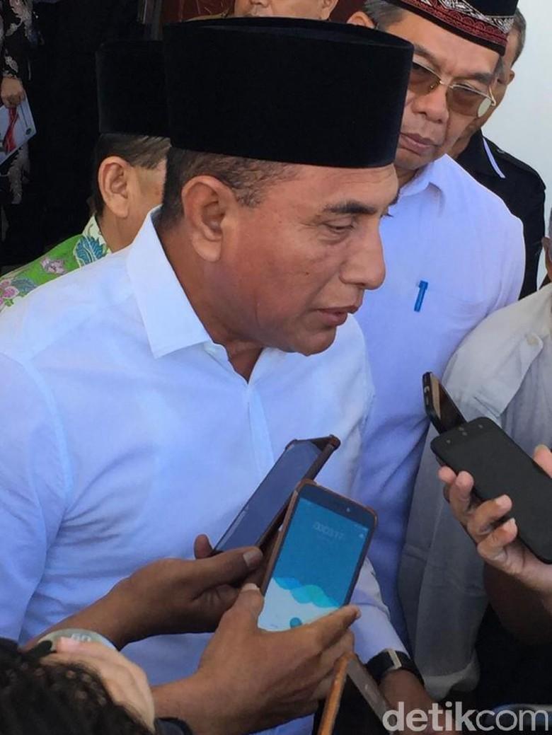 Gubernur Sumut Tawarkan Tanah 50 Hektare untuk Asrama Haji Medan