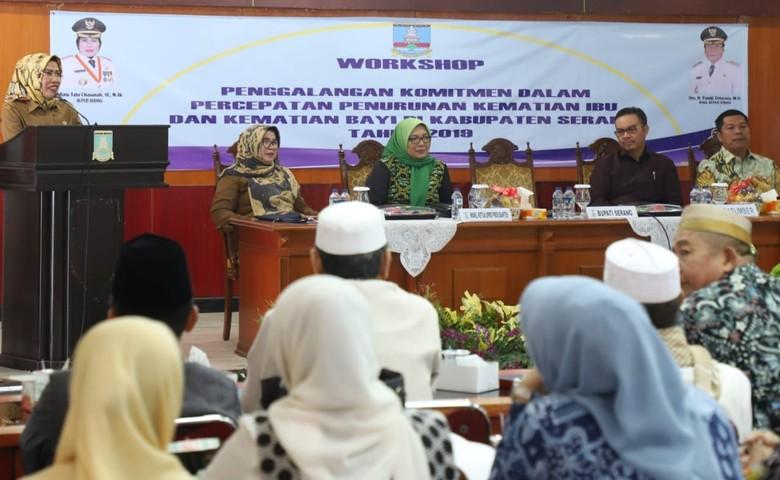 Pemkab Serang Belajar dari Kulon Progo Kurangi AKI-AKB