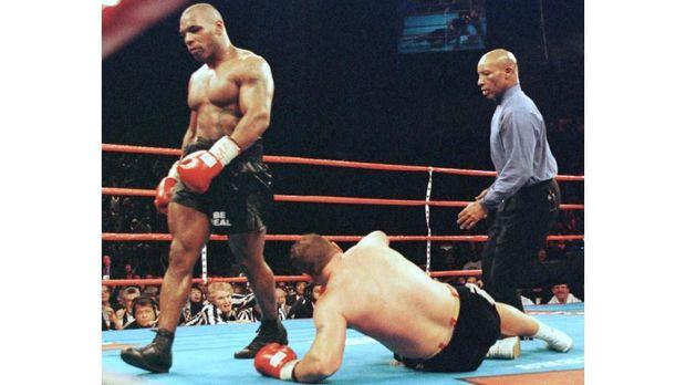 Mike Tyson hanya memiliki rasio kemenangan KO sebesar