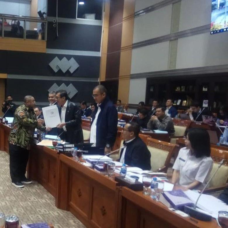 Kemenkum HAM dan DPR Bahas RUU Kerja Sama Indonesia-Iran