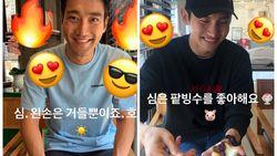 Keseruan Siwon dan Changmin TVXQ Saat Makan Es Serut Bareng
