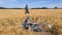 Dua Jet Tempur Jerman Tabrakan di Udara