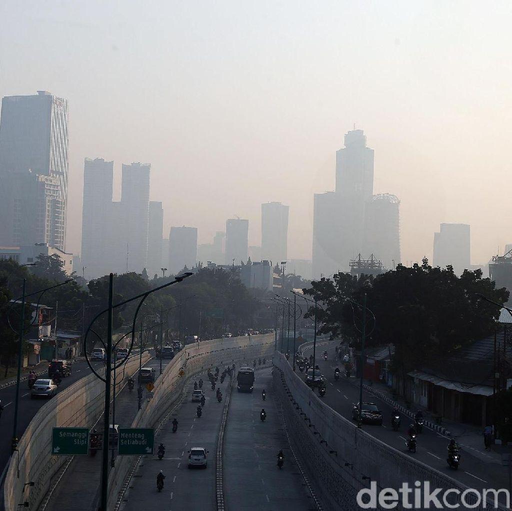 Pemprov DKI Bantah Kualitas Udara Seluruh Jakarta Buruk Sepanjang Waktu