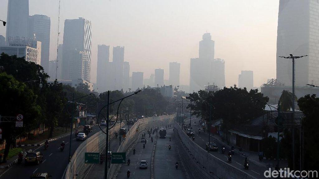 Kualitas Udara Jakarta Dinyatakan Tak Sehat, Ini Kata Pemprov DKI