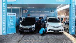 Kampanye Keselamatan Ban Bridgestone di Bekasi dan Karawang