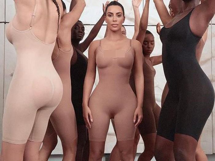 Kim Kardashian rilis pakaian dalam. Foto: Dok. Hypebae