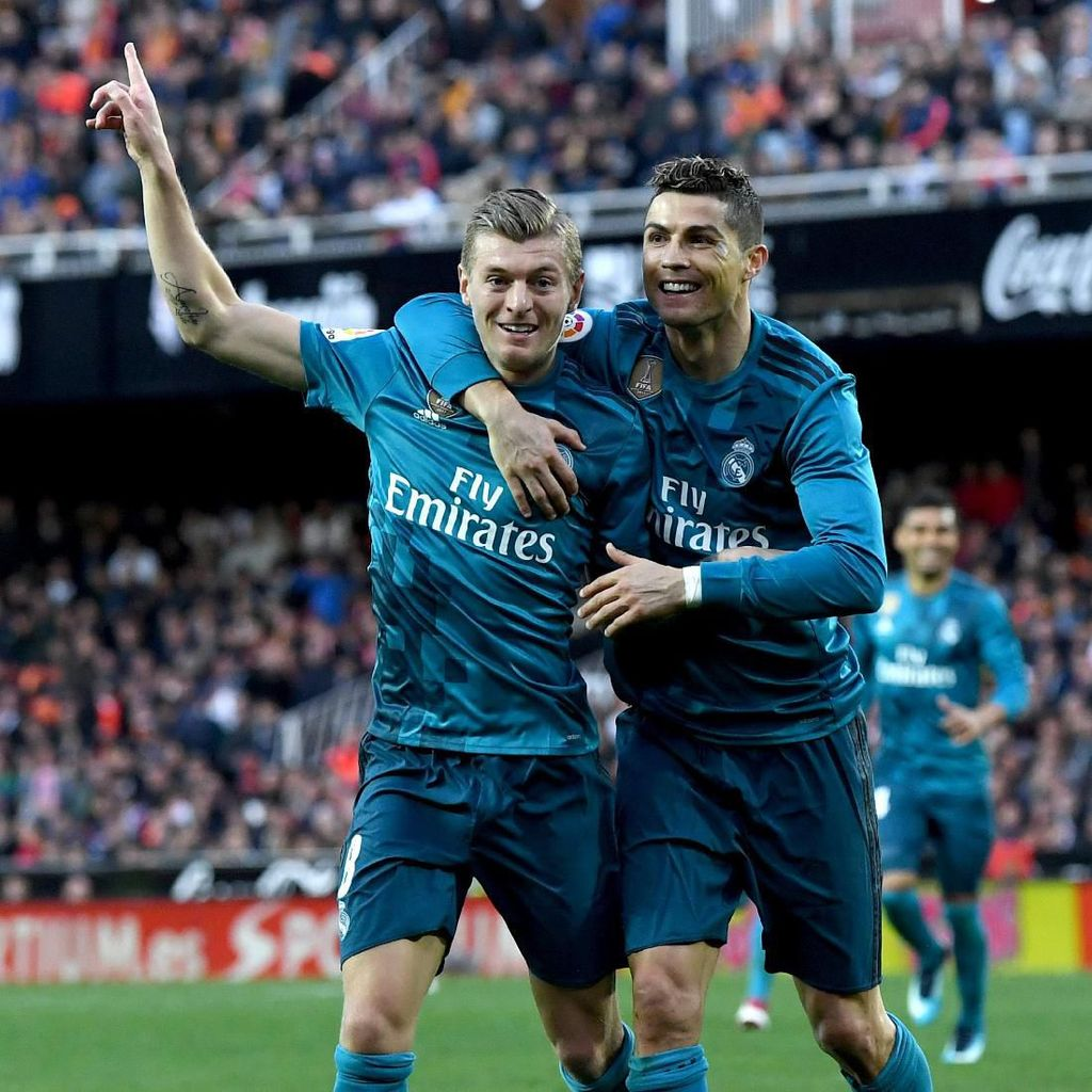 Soal Transfer Ronaldo, Kroos: Dia Senang, Madrid Juga