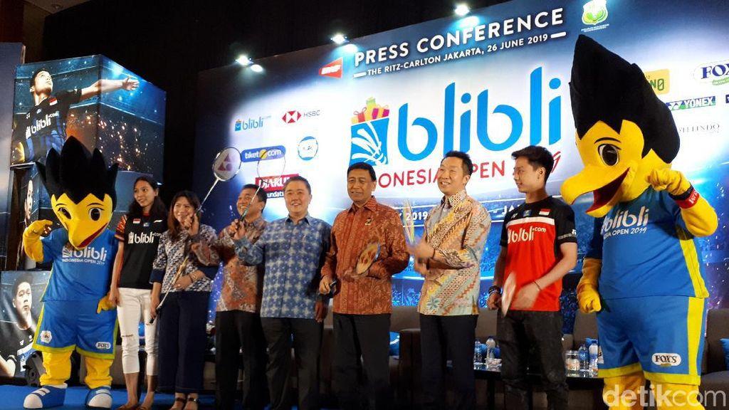 Siapkan Kameramu, Indonesia Open 2019 Bakal Instagramable