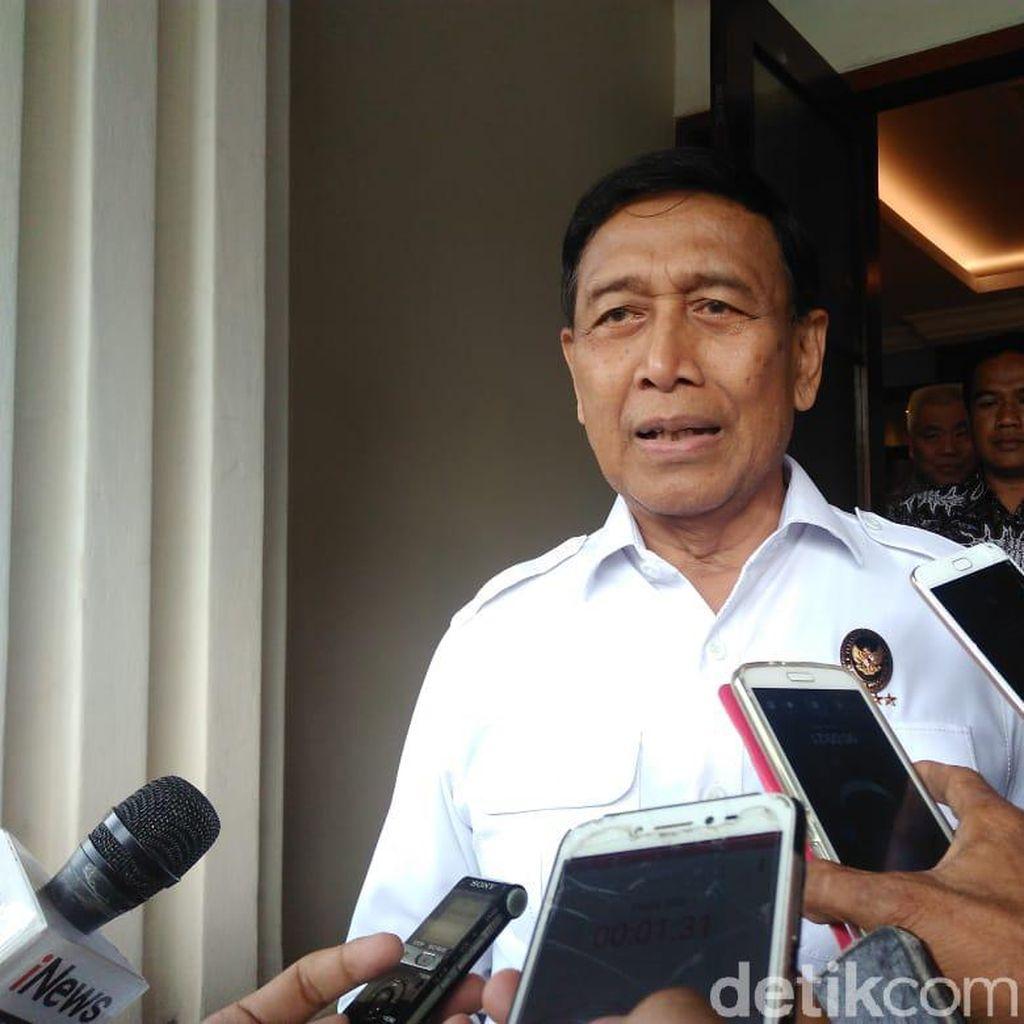 Besok Putusan MK, Wiranto: Masyarakat Tak Usah Khawatir, Aparat Berjaga