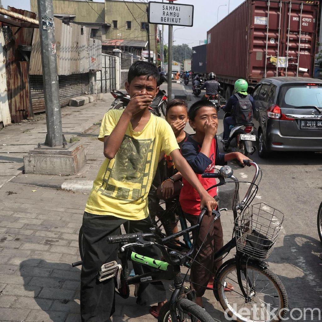 Potret Muram Ibu Kota, Warga Digempur dengan Polusi Udara