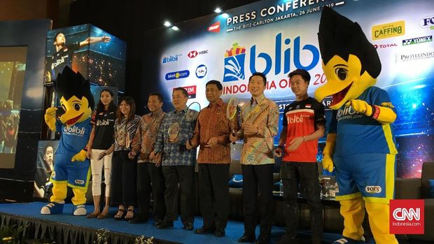 Indonesia Terbuka 2019 mengusung tema baru, sportartainment.