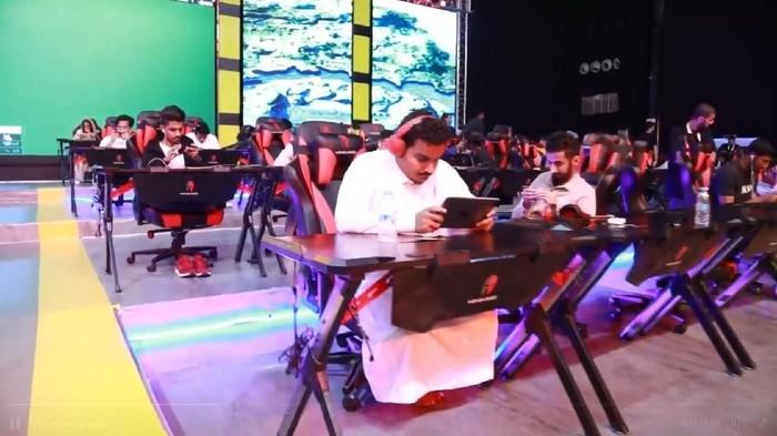 Turnamen eSports, salah satunya PUBG Mobile, di Arab Saudi. (Foto: Screenshot GSA)