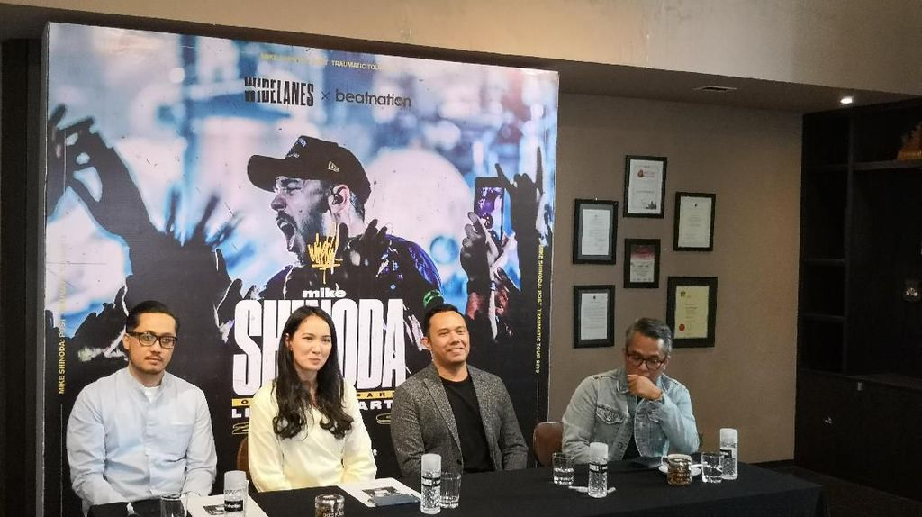 Promotor Rayu Mike Shinoda Satu Tahun agar Mau ke Indonesia