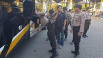 Antisipasi Massa ke Jakarta, Terminal Bunder Gresik Dirazia