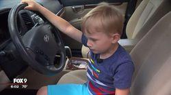 Waduh! Bocah 4 Tahun Pakai Mobil Kakeknya buat Beli Permen