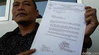 Surat klarifikasi dari UNJ.
