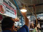 Cek Pasar Sederhana, Diskar Bandung Soroti Soal Instalasi Listrik