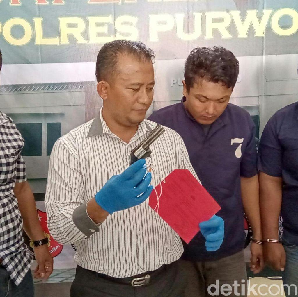Pakai Pistol Mainan, Polisi Gadungan Peras Remaja Pacaran di Purworejo