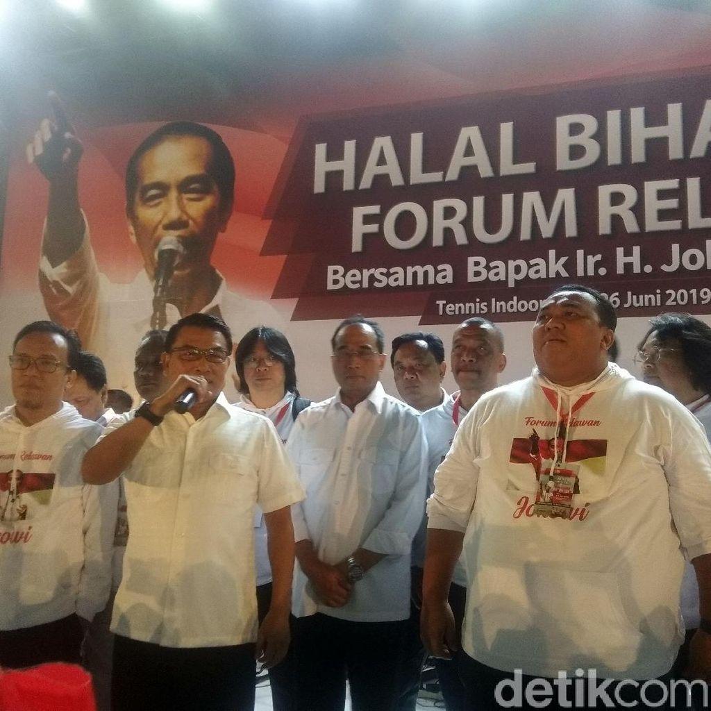 Moeldoko: Jokowi akan Selebrasi Kemenangan Bareng Relawan 7 Juli